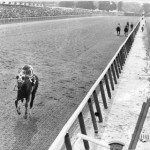 secretariat on way to 31 length victory in 1973 Belmont. AP file photo