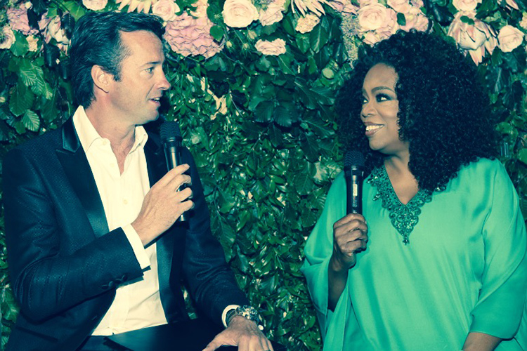 Oprah and Hamish